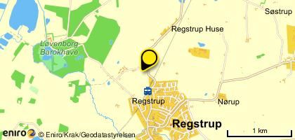Kort til at finde vej til Anettes Massageterapi v/ Anette Bergman